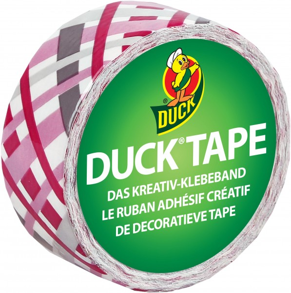 Duck® Tape Ducklings Pretty Plaid