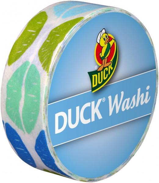Duck® Tape Washi Aqua Kiss