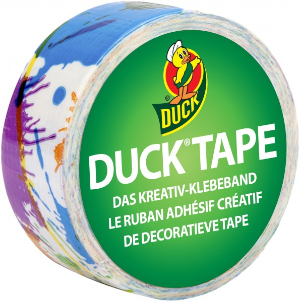 Duck® Tape Ducklings PaintSplatter