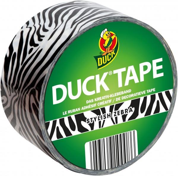 Duck® Tape Styl. Zebra