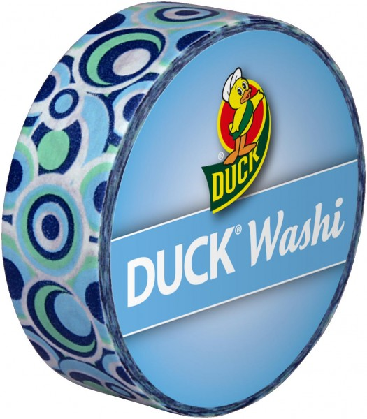 Duck® Tape Washi Retro Blue