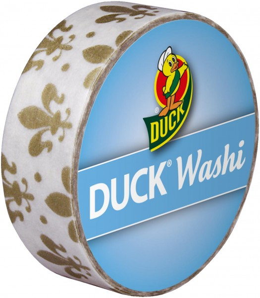 Duck® Tape Washi Golden Lily