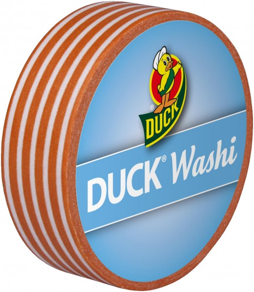 Duck® Tape Washi Orange Stripes
