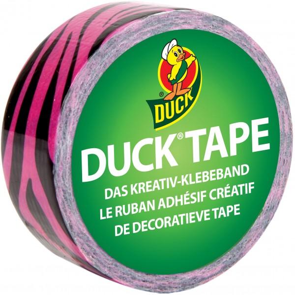 Duck® Tape Ducklings Pink Zebra
