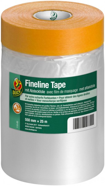 Duck® Fineline Tape mit Abdeckfolie