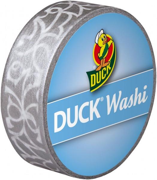 Duck® Tape Washi Silver Cirrus