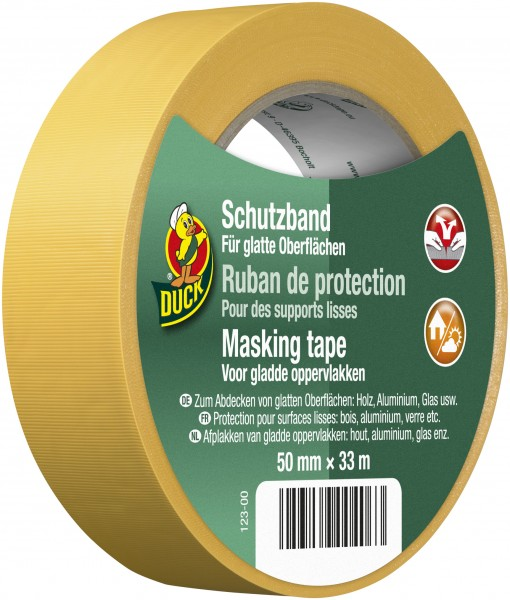Duck® Schutzband Quergerillt Gelb